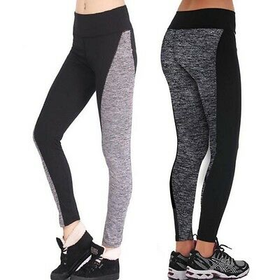Femmes Yoga Fitness Leggings Exercice Gym Course Sport Pantalon