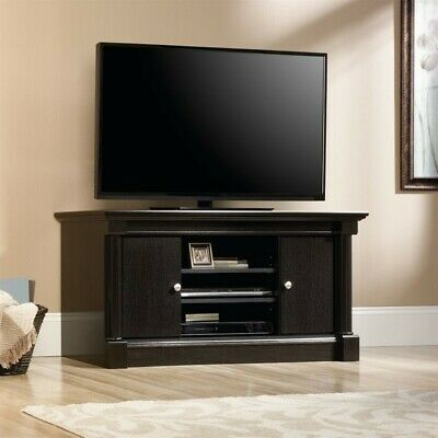 Sauder 411864 Palladia Panel Tv Stand Select Cherry Finish New