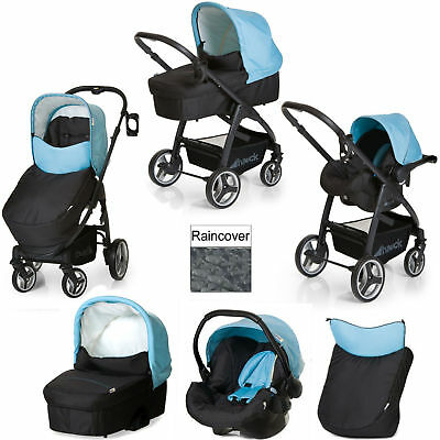 New Hauck Aqua Lacrosse Shop N Drive All In One Travel System  With Car Seat
