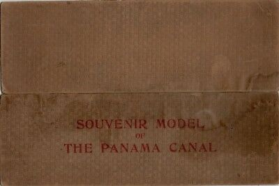 I. L. Maduro, Jr. Souvenir of The Panama Canal, Profile Of Panama Canal, 1911