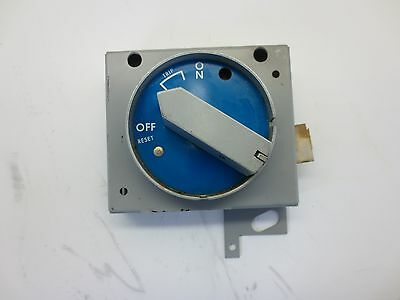 GE General Electric TEFR1B Rotary Disconnect Switch E504+
