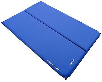 Vango Adventure DLX Double Self Inflating Mat Camping Mattress - Blue 183 x 1...