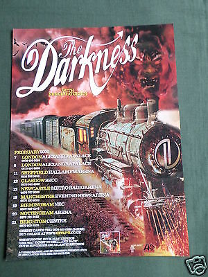 The Darkness - Magazine Clipping / Cutting- 1 Page Advert