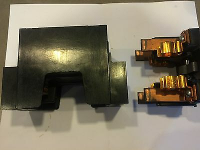 cutler hammer range main amp fuse pull out holder bull  american 30 amp range fuse panel pull out and 455 2r fuse block