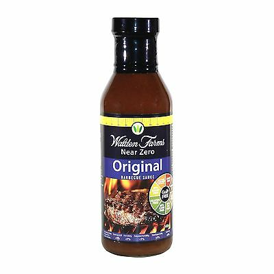 WALDEN FARMS NEAR ZERO CALORIE  ORIGINAL BBQ SAUCE 340g