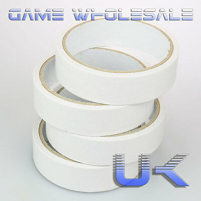 Double Sided Sticky Tape - Clear Transparent Strong Adhesive - 24mm x 8m