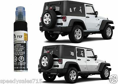 OEM Mopar 1997-2018 Jeep Wrangler Hard Top BLACK Touch Up Paint New Free Ship