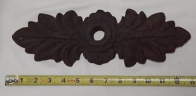 Antique French CAST IRON MASONRY ANCHOR PLATE, Wall Washer ARCHITECTURAL Tie-Rod