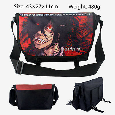 HELLSING Fashion Polyester shoulder bag printed with Anime figure of Alucard