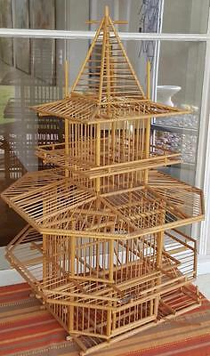 Wonderful Handmade Cricket Cage - GOOD CONDITION - VERY DELICATE - NICE ITEM