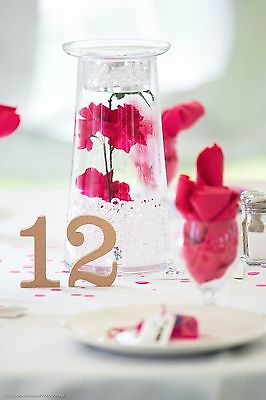 Wooden Table Numbers - Wedding Centrepieces (Tables 1-17)