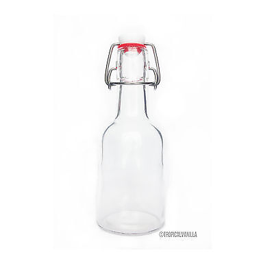 Swing Top Glass Bottle 250ml + FREE DELIVERY