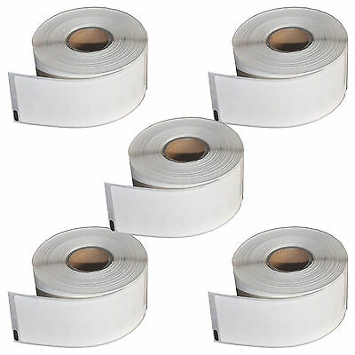 5 X COMPATIBLE DYMO 11352 ADDRESS LABEL ROLL FOR LABELWRITER PRINTERS 25MMx54MM