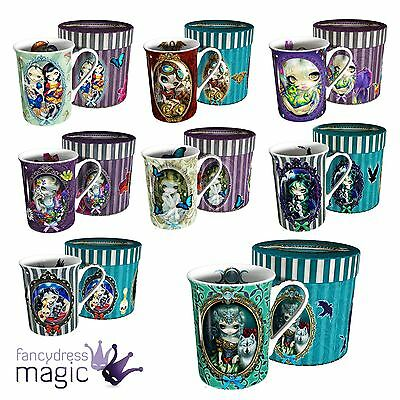 Nemesis Now Jasmine Becket Griffiths Fairy Gothic Steampunk Mug Cup Gift Boxed