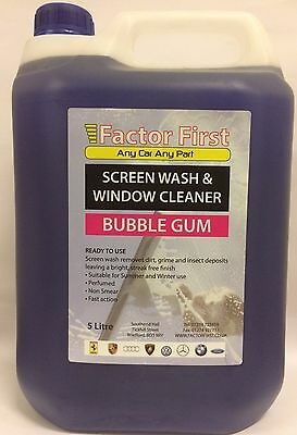 SCREEN WASH BUBBLEGUM CONCENTRATE 5L Chemicals Cleaning - BG1021 ON OFFERS