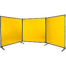 STEINER 534-6X6, Protect-O-Screen Yellow Welding Screen 6' x 6' - NEW