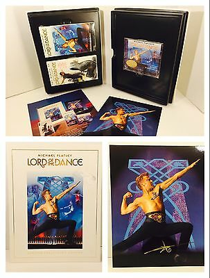 Michael Flatley Lord of The Dance Limited Collector's Edition VHS/CD/Poster Set