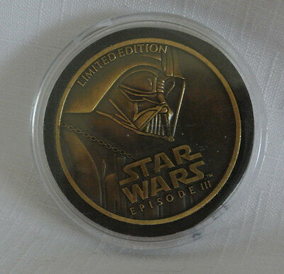 2005 Star Wars Episode111 Coin Limited Edition