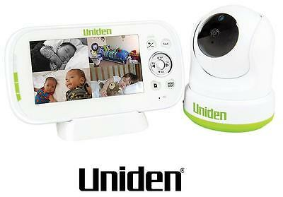 "Uniden Bw3451R 4.3"" Wireless Digital Baby Monitor Pan & Tilt  And Remote View"