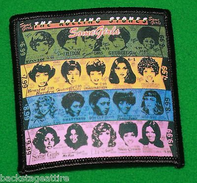 Rolling Stones Some Girls Cover Mick Jagger Iron/Sew On Patch Badge Applique-New