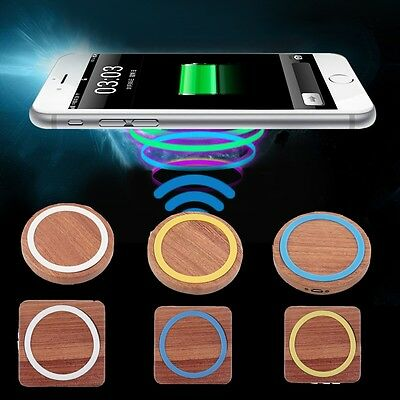qi wireless charger charging receiver phone cover case for iphone 7 7 plus 6 me eur 15 06. Black Bedroom Furniture Sets. Home Design Ideas