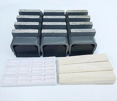 3PACK Diamond Grinding Blocks for Edco,Stow and General Equipment Floor Grinder