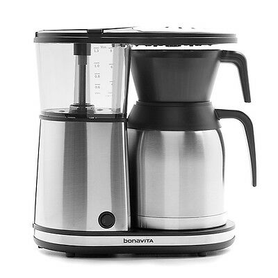 Bonavita BV1900TS Thermal Carafe Coffee Brewer 8 Cup, 1500-watt with Auto-Off