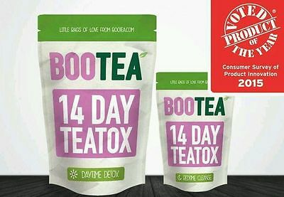 Bootea 14 Day Teatox Daytime Detox&Bedtime Cleanse Cheapest on Ebay, Weight Loss