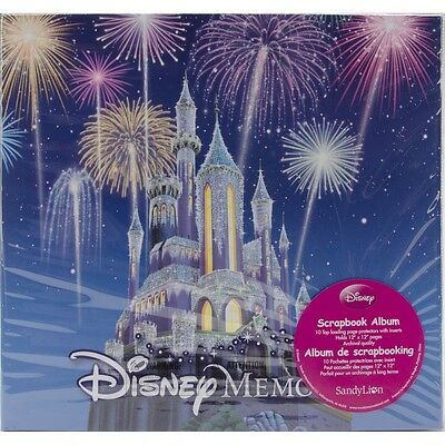 "Trends Disney Memories Post Bound Album 12""X12""-"