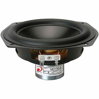 "Dayton Audio ND140-8 5-1/4"" Aluminum Cone Midbass Driver 8 Ohm"
