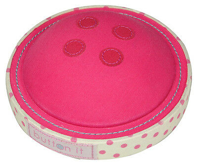 Button It 82206 | Cute As A Button Button Pin Cushion | 11 x 11 x 4½cm FREE POST