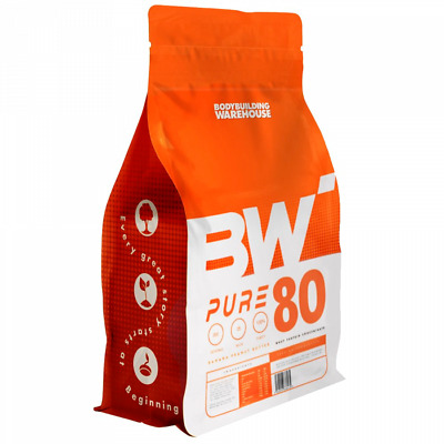 Pure Whey 80 Protein Powder 500g Low Carb Lean Protein Shake Amazing Flavours