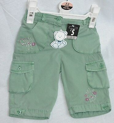 Baby Girl Babies Green Trousers with Embellishment First Size up to 18 Months