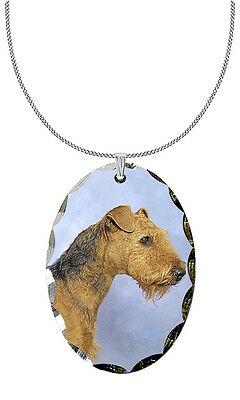 Airedale Terrier Pendant / Necklace