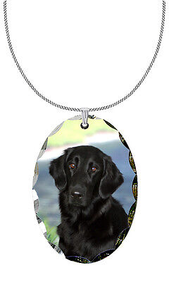 Flat Coated Retriever Pendant / Necklace