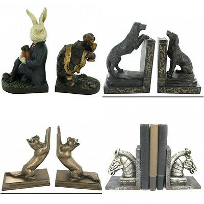 Quirky Animal Themed Shelf Tidies Bookends Unusual Gifts for Home Wedding