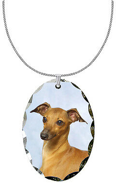 Italian Greyhound Pendant / Necklace