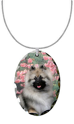 Keeshond Pendant / Necklace