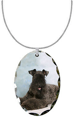 Kerry Blue Terrier Pendant / Necklace