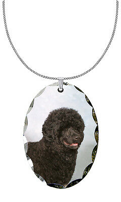 Portuguese Water Dog Pendant / Necklace
