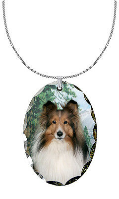 Shetland Sheepdog Pendant / Necklace
