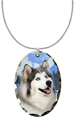 Siberian Husky Pendant / Necklace