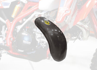 P3 2-Stroke Carbon Fiber Composite Exhaust Pipe Guard for KTM 250/300 FMF Pipe
