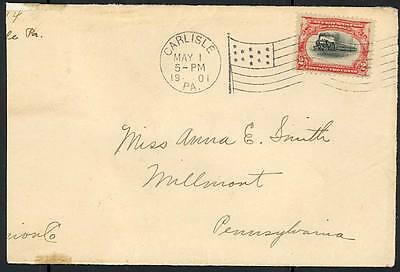 #295 On Rare First Day Cover (Trimmed) To Pennsylvania Cv $4,000 Wlm455