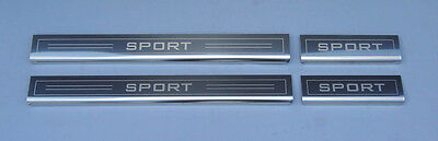Range Rover Sport 4 Door Sill Protectors Kick Plates Scuff Guards Stainless New