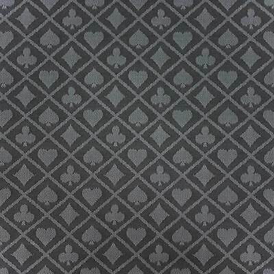 6 Feet Two-Tone Platinum Poker Table Waterproof Suited Speed Cloth - 50-0095x6