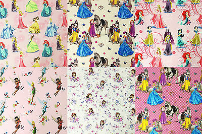 Disney® Princesses Tinker Bell Juniors 100% Premium Cotton Fabric 140cm Wide