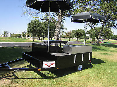 Catering Bbq Trailer