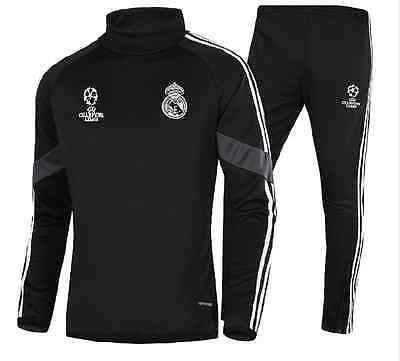 Real Madrid Football Presentation Tracksuit - Adult Children Kid Soccer Training