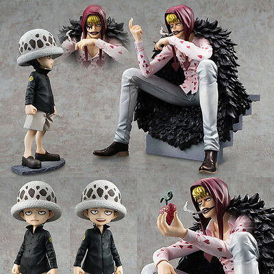 Anime Figure Toy One Piece Corazon Law Figurine Statues 12-17cm